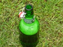 Green bottles, clear bottles, blue bottles, all make skunky beer.