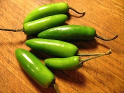 Green Serrano Chili Pepper