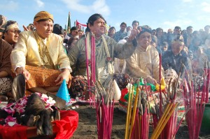 The Larung Procession
