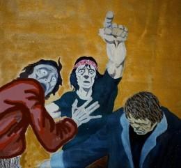 The Trinity.  Oil on Canvas.