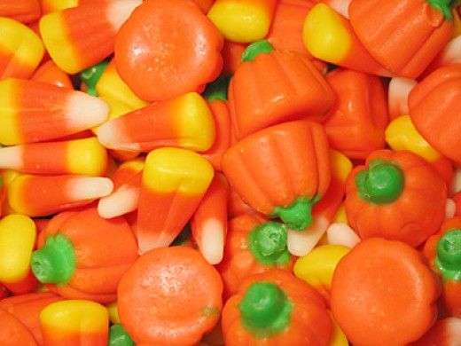 Candy treats for halloween....kids eat your greens and brush your teeth!