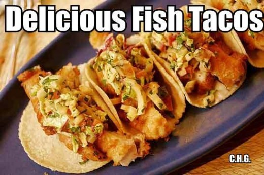 Fish Tacos can be oh so delicious and healthy for you. These fish tacos are truly one of the best things you'll ever eat. The best fish tacos ever.