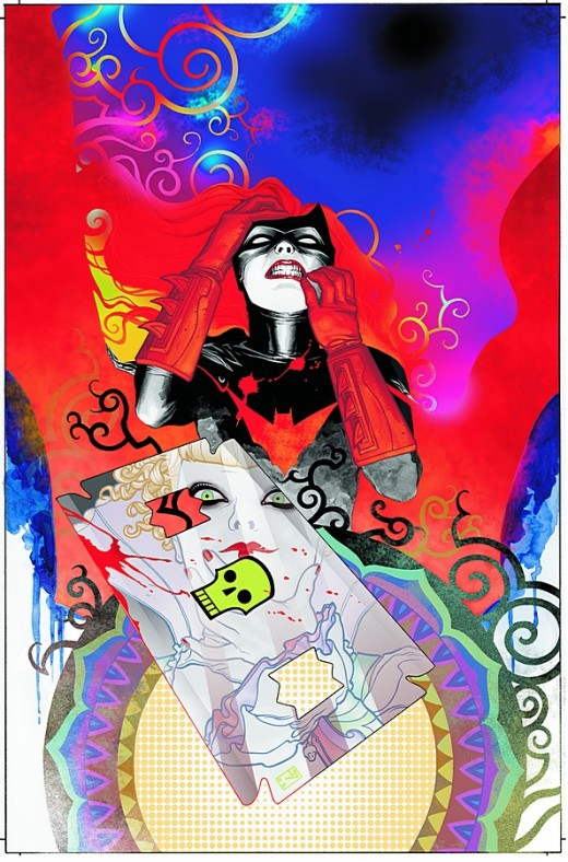 Detective Comics cover featuring Batwoman