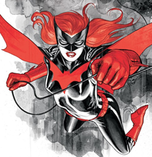 An early Batwoman image