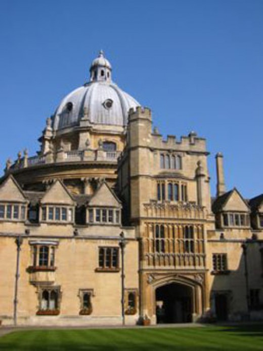 Brasenose College, Oxford University - Dave Cameron studied here