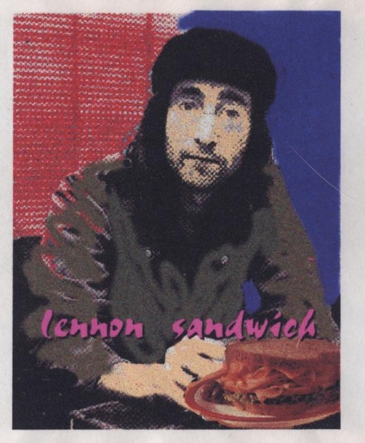 Lennon Sandwich - my own photoshop creation