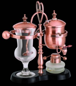 Siphon Coffee Maker How It Works : Royal Siphon Coffee Maker - whats the brew-haha with syphon coffee makers