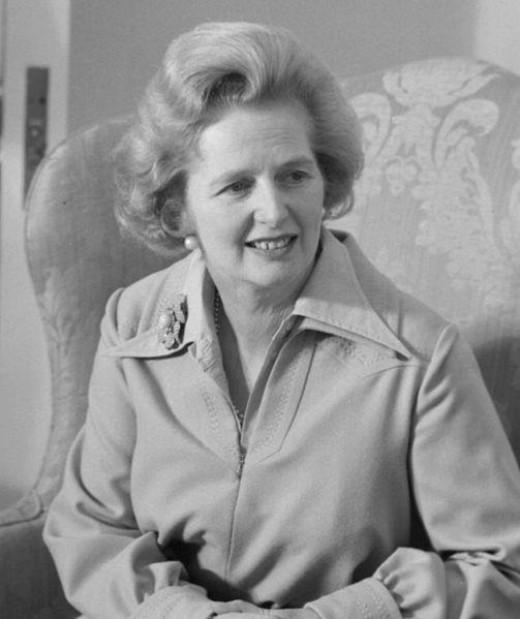 U K Prime Minister Margaret Thatcher