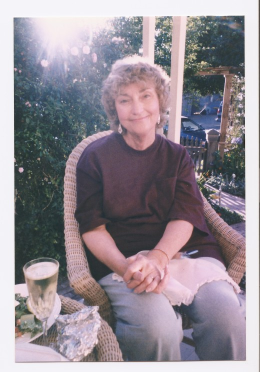 About a year before she passed. We were in Cambria at the Squibb House Bed and Breakfast