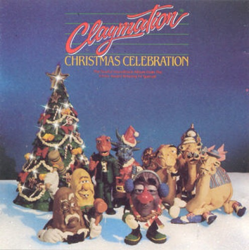 A Claymation Christmas Celebration Poster