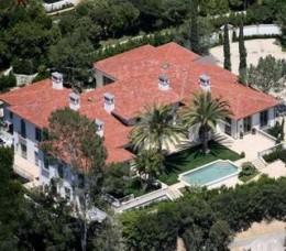 David Beckhams L.A Home