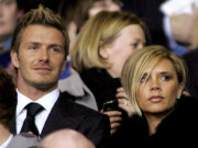 David Beckham and wife Victoria
