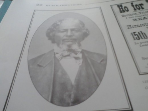 Benjamin Singleton, founder of the black community of Dunlap and Nicodemus, Kansas; The beginning for Satchell Paige.