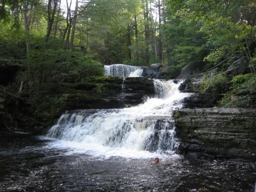 Factory Falls (17 feet)