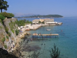 The Beautiful Greek Island Corfu