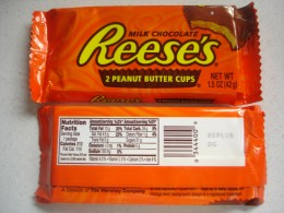 CANDY IS GOOD! Carbohydrate count and serving size can be found on most packages.