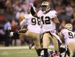 Darren Sharper and the Saints defense had reason to celebrate against the Jets.