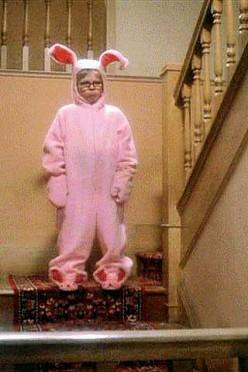 Ralphie's Pink Nightmare Pajamas