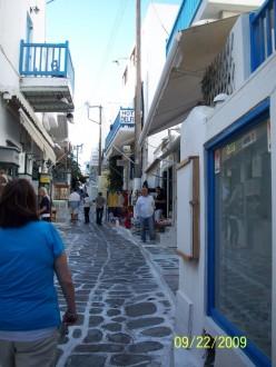 Greek Party Island Mykonos