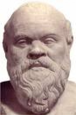 Socrates:  he preceded Diogenes and helped form his philosophy    secondapril.org photo