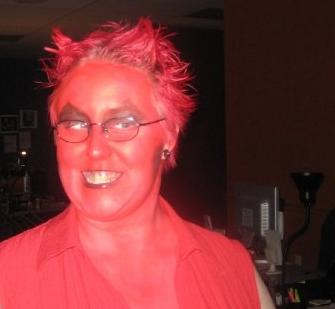 Halloween '08 - that was my real hair color!