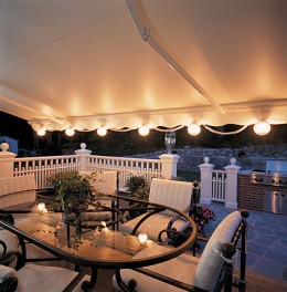 Deck lighting always adds ambience to your outdoor spaces.