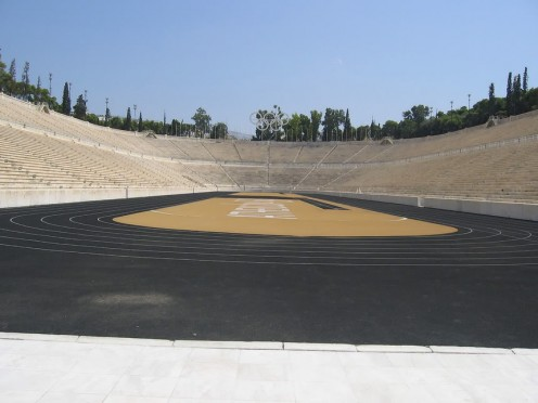 1896 Summer Olympic Stadium In Athens