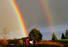 What's up with God's love & rainbows?