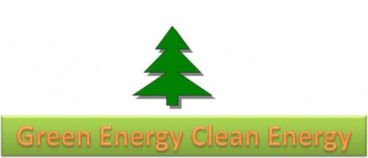 Green energy, clean energy