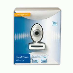 Creative Technology Video IM Pro Personal Web Camera Skype Edition