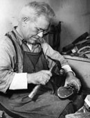 Master Shoemakers Refurbish Mephisto Shoes