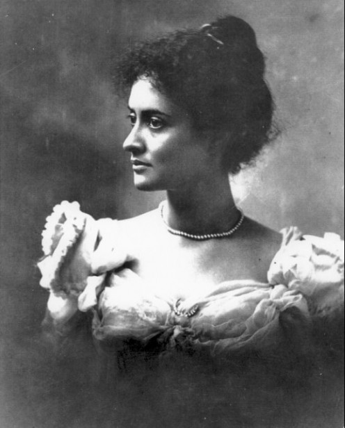 Victoria Ka'iulani Likelike Cleghorn, last Crown Princess of Hawaii, died in1893 after business interests overthrew the Crown. As a child, she rode her pony at evening.