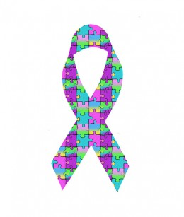 Autism Awareness Ribbon. Created by: BL1961