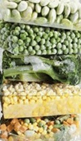 packaged frozen vegetables