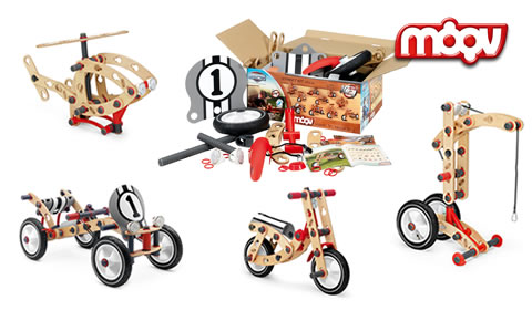MOOV construction kit - build different models from one set!