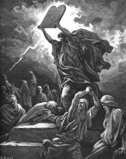 Credit Google Images  Moses and the Ten Commandments