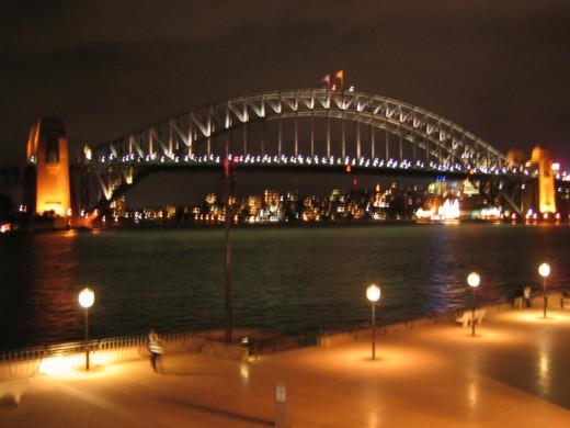 Sydney Harbour bridge, picture taken by me