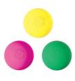 Three Lacrosse Balls, from Warrior's Neon Range
