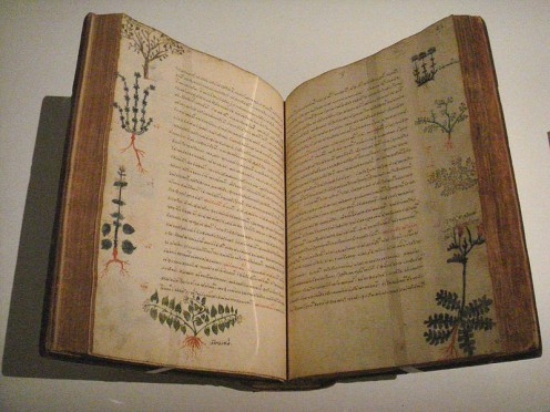 De Materia Medica 15th century Byzantium
