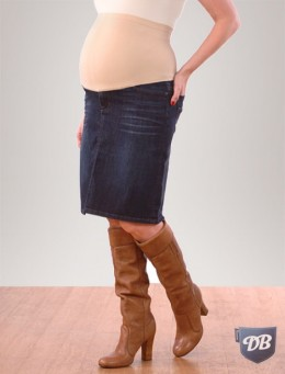 Pregnancy Denim Skirt