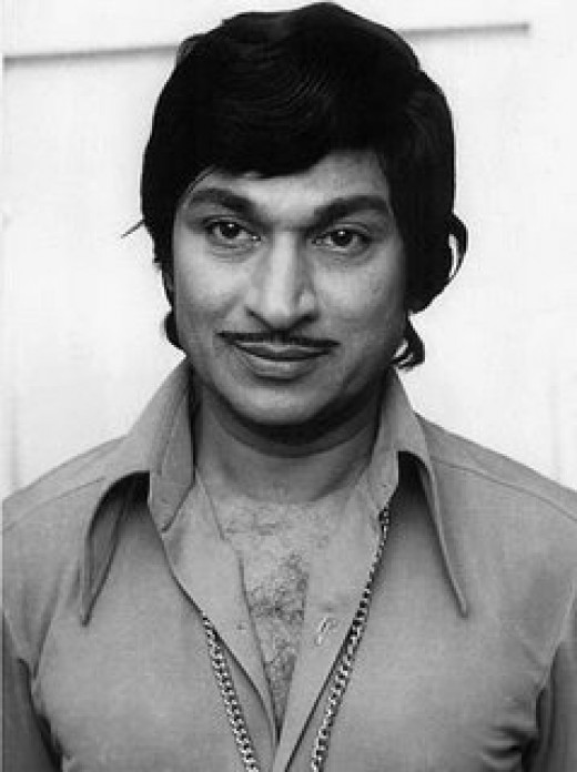 Dr.Raj-When he was younger,in one of his more than 200 films
