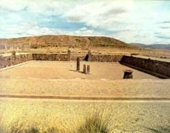Semi-subterranean temple at Tiwanaku