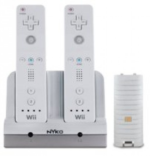 Wii Controller Stand