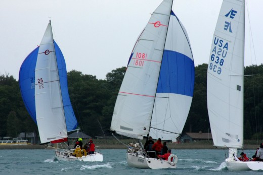 Ruby My Dear, Air Force and Etchells #638, BYC N. Channel Race 2009  deedsphoto