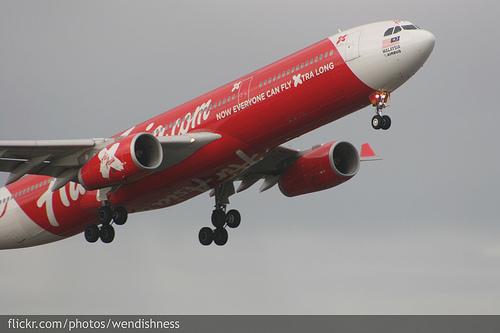 Air Asia X A330 aircraft