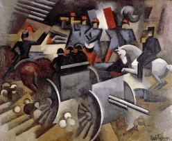 """""""Artillery"""" by Fresnaye in 1911"""