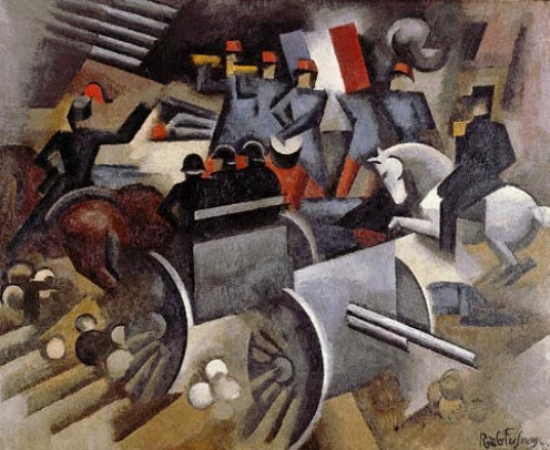 """Artillery"" by Fresnaye in 1911"