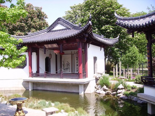 A Chinese Tea House