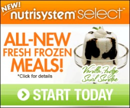 Nutrisystem Select includes goodies like ice cream!