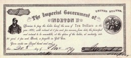 Norton I Issued His Own Money